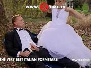 Трахнул невесту на свежем воздухе