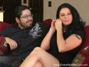 Жена трахается при муже с другим чуваком