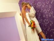 Первая брачная ночь лесбиянки