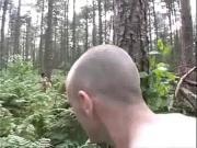 Согласилась потрахаться в лесу
