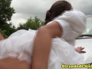 Сбежала со свадьбы что бы потрахаться с бывшим