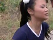 Выебал молоденькую азиатскую спортсменку
